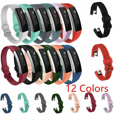 $ CDN6.31 • Buy For Fitbit Alta HR Sport Tracker Silicone Wristband Watch Band Strap Replacement