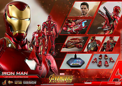 $ CDN1015.02 • Buy (au) Hot Toys 1/6 Avengers: Infinity War Mms473d23 Iron Man Mk50 Mark L Figure