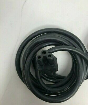 Job Lot×10 C5 Cloverleaf 3 Pin Mains Cable Clover Leaf Power Cord Different Size • 11.99£