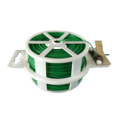 £9.84 • Buy Sturdy Garden 100m Twist Tie Wire Cable Reel With Cutter Cable Tie Plant