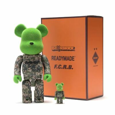 $462.57 • Buy Be Rbrick Readymade F.C.Real Bristol 400 100 Bearbrick Ready Made Fcrb