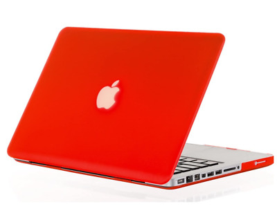 Laptop Hard Cover Case For Apple MacBook Pro 13  Red • 7.99£