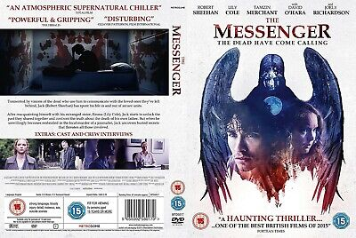 The Messenger (DVD-2015, 1-Disc) Region 2. Robert Sheehan.  A HAUNTING THRILLER  • 12.99£