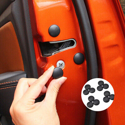 AU5.69 • Buy 12x Universal Car Door Lock Screw Protector Cover Cap Trim Interior Accessories