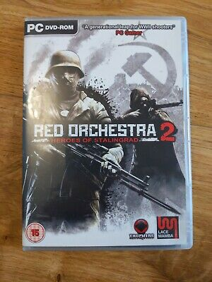 Red Orchestra 2 Heroes Of Stalingrad PC CD Rom With Key - Free P&P • 4.99£