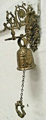 Antique Cottage Door Bell And Pull Architectural Reclaimed 1.05 Kg • 35£