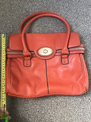 Orange Jane Shilton Handbag • 1.80£
