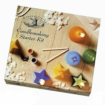 Make Your Own Candles Candle Making Starter Kit Craft Hobby Wax Moulds Gift • 12.99£