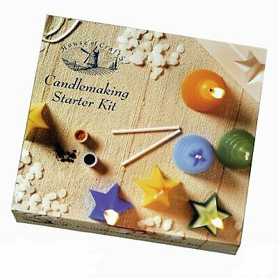 Make Your Own Candles Candle Making Starter Kit Set Craft Hobby Wax Moulds Gift • 13.25£
