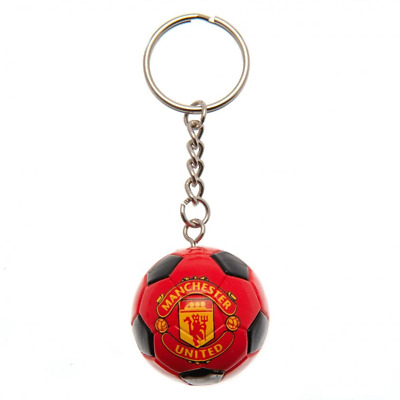 Manchester United FC Football Keyring | OFFICIAL • 7.05£