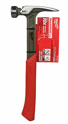 View Details Milwaukee 48-22-9022 22 Oz. Milled Face Framing Hammer • 29.95$