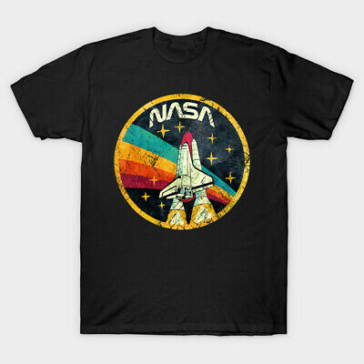 Nasa Spaceship Space Nature Facemask Film Movie Funny Halloween T Shirt • 6.75£