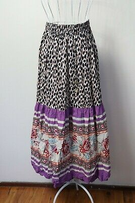 AU50 • Buy  Tigerlily  Size 10. Ladies LongPrint Skirt. Great Condition. Bargain Price.