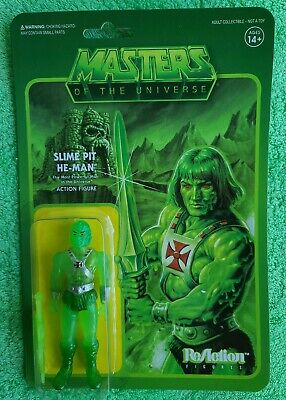 $35 • Buy MOTU Masters Of The Universe Slime Pit He-Man ReAction Figure Super7