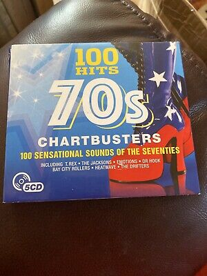 100 Hits 70s Chartbusters, 2015 100 Sensational Sounds Of The 70s Various • 1.10£