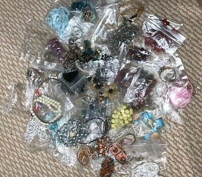 $ CDN5.99 • Buy Costume Jewelry LOT Of 50 NECKLACES Pendants Chains, Vintage Assorted Jewellery