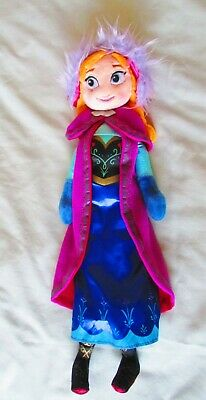 16  Disney Store Exclusive Frozen Princess Anna Soft Plush Stuffed Toy Doll. New • 9.99£