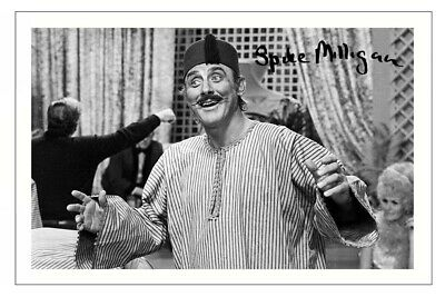 SPIKE MILLIGAN Signed Autograph PHOTO Fan Signature Gift Print COMEDY GOONS • 1.89£