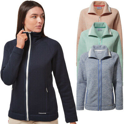 Craghoppers Womens Alphia Insualted Full Zip Fleece Jacket • 25.60£