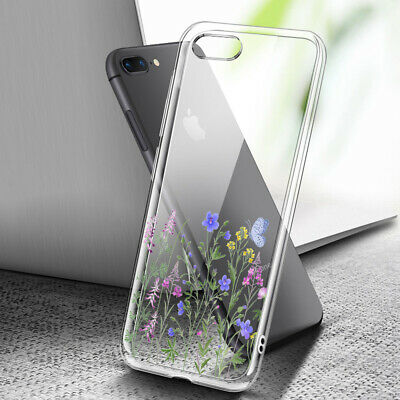 AU8.99 • Buy ( For IPhone 8 Plus ) Art Clear Case Cover C0053 Little Flower