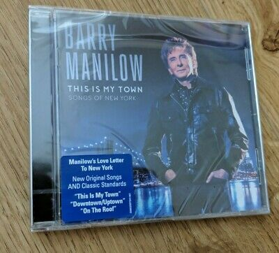 Barry Manilow This Is My Town Songs Of New York CD Album 2017 New & Sealed • 3.50£
