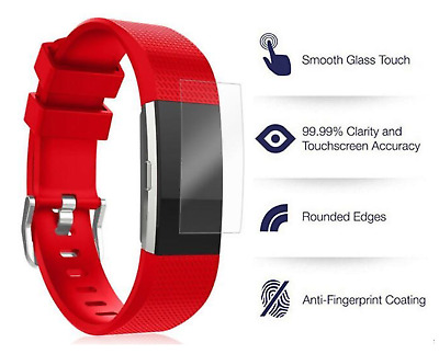 $ CDN8.77 • Buy 4x HD Fitbit Charge 2 Screen Protector - High Quality Explosion Proof A1