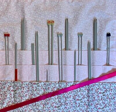 Handmade Knitting Needle Case/holder/bag/storage • 12.99£