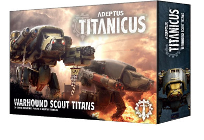 AU7.04 • Buy Adeptus Titanicus Reaver Battle Titan With Melta Cannon And Chainfist - No Box.