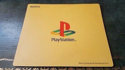 Official Sony PS1 Mouse Mat (Yellow) Mousemat • 21.95£