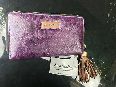 Great  Genuine Leather Purse  From   Jane Shilton    New • 9.90£