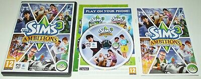 £5.99 • Buy ** THE SIMS 3 ** AMBITIONS ** PC & MAC DVD Rom Expansion Pack Game
