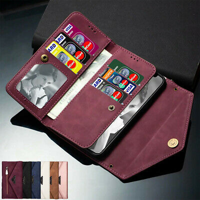 AU19.99 • Buy For IPhone 12 11 Pro Max Mini XR XS 7/8/SE Plus Leather Wallet Case Flip Cover