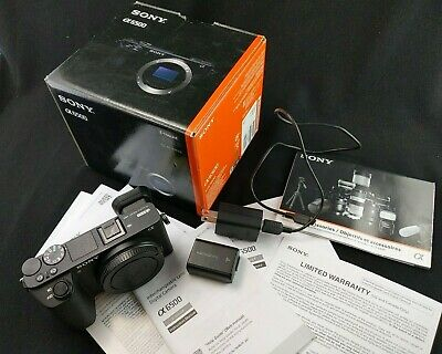 $ CDN1113.39 • Buy Sony A6500 24.2MP Camera Body Boxed 1789 Clicks Only Excellent Condition