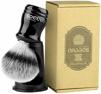 Anbbas Synthetic Badger Shaving Brush With Shave Holder Stand 2IN1 Resin Handle • 6.99£