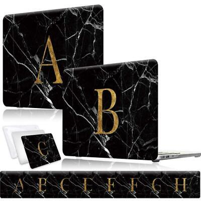 26 Letters Laptop Shell Case Cover For MACBOOK Air 11 13 /New Air 13 (Touch ID) • 10.99£