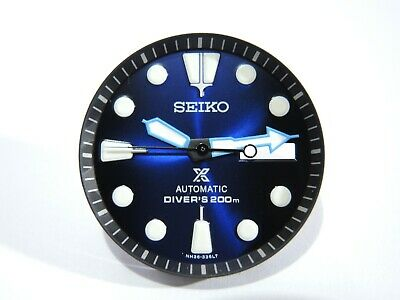 $ CDN60.15 • Buy New Replacement Seiko Prospex Black/blue Dial Set Will Fit Skx007-009 Diver's