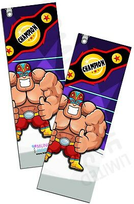 Wrestling Bookmarks Book Reading School WWE Party Bag Fillers Pack Sizes 6 - 48 • 3£