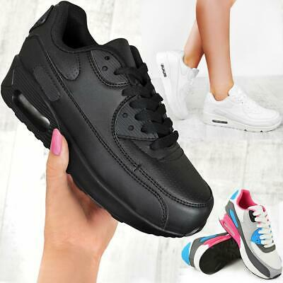 $ CDN31.29 • Buy Womens Ladies Running Trainers Gym Shock Absorbing Sports Fitness Shoes Size New