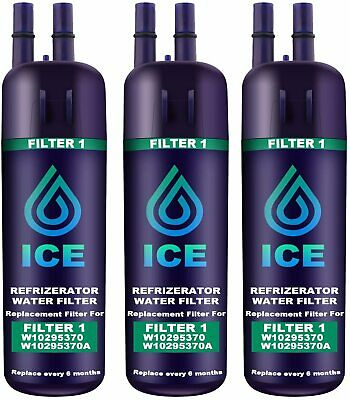$ CDN49.75 • Buy Refrigerator Water Filter 1 Compatible With Whirlpool W10295370 W10295370A Ke...