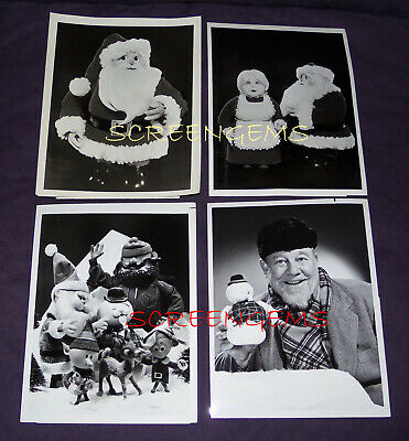 $1200 • Buy Rankin Bass Vintage TV Photos Lot Archive Santa Claus Frosty Rudolph RARE Mint