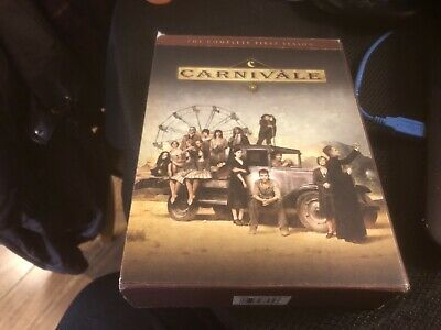 Carnivale - The Complete First Season (DVD, 2004, 6-Disc Set) • 2.54£