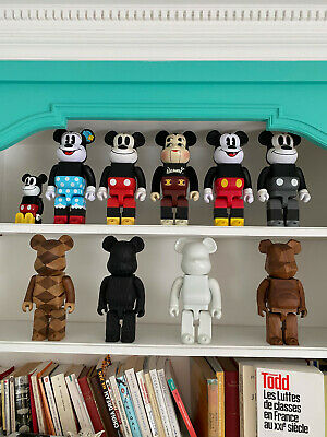 $3584.55 • Buy Medicom: Karimoku Fragment Mickey Mouse Nexus Bearbrick Kaws