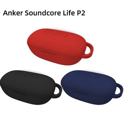AU6.01 • Buy Silicone Anti-fall Earphone Case Protective Cover For Anker Soundcore Life-P2JC