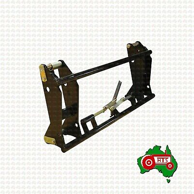 AU794.99 • Buy Euro Quick Hitch Bracket Carrier Frame Head Stock Tractor Loader Mechanical