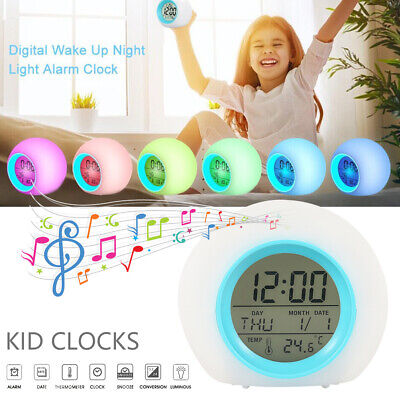 AU13.99 • Buy NEW Digital LED Display Desk Table Clock Temperature Alarm Modern Home Decor AUS