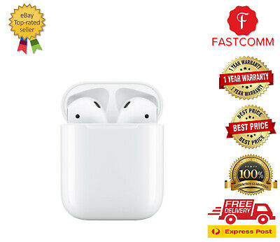 AU199 • Buy Brand New Apple AirPods 2nd Gen With Charging Case - White - [ Au Seller ]