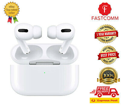 AU338 • Buy Apple Airpods Pro With Wireless Charging Case White - MWP22ZA/A - [Aus Stock]