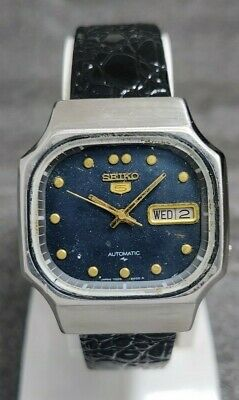 $ CDN1.31 • Buy Vintage Seiko 5 Automatic Movement No. 7009 Japan Made Men's Watch.
