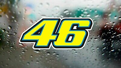 Valentino Rossi 46 The Doctor Decal Drift Laptop Car Window Vinyl Sticker  • 3£