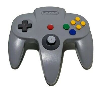 AU49.99 • Buy Nintendo 64 Grey Controller Genuine Authentic N64 8 Out Of 10 Joystick